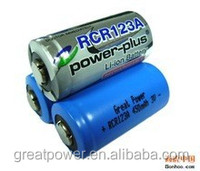 CR123A use in LED Flashlight very safe 3 volt battery
