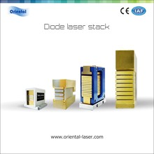 LD 300w-600w beauty machine spare parts diode laser 808nm stack 3 laser bars for different wavelength