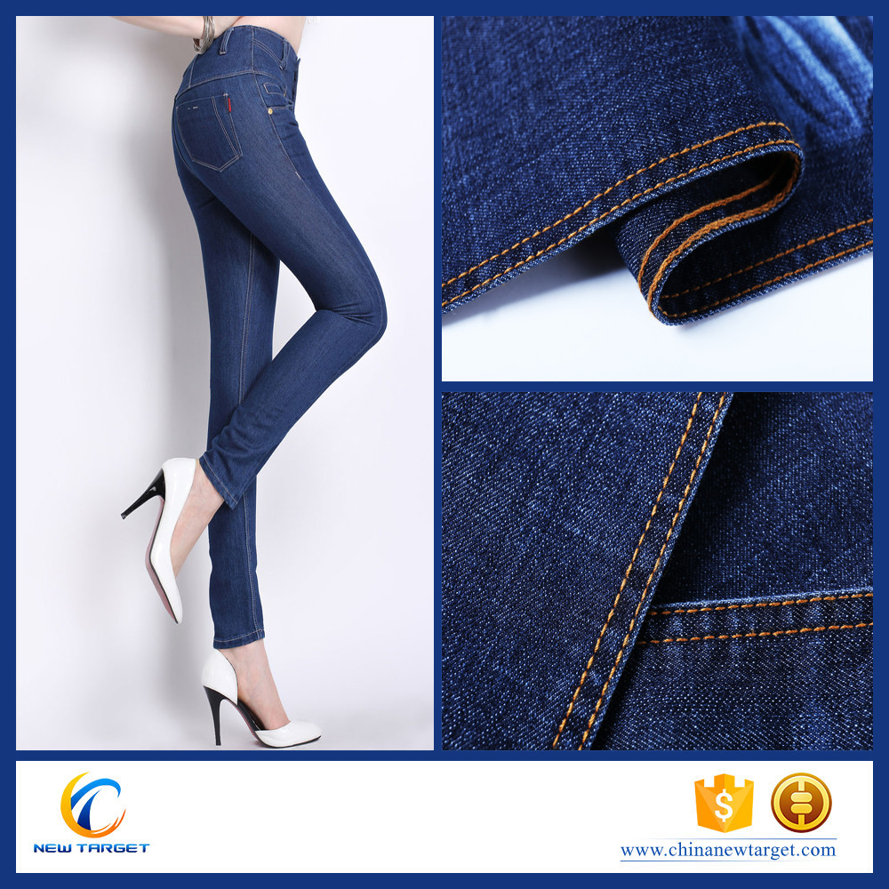 75 cotton 23 polyester 2 spandex denim fabric with great price