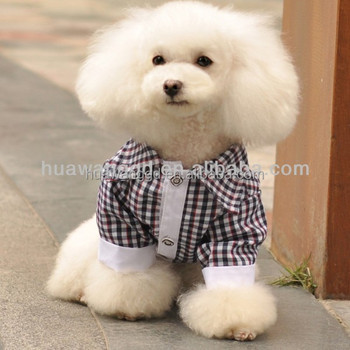 cbe7edc0c71c Wholesale dog plaid shirt clothes, pet dog product, dogs accessories in  China