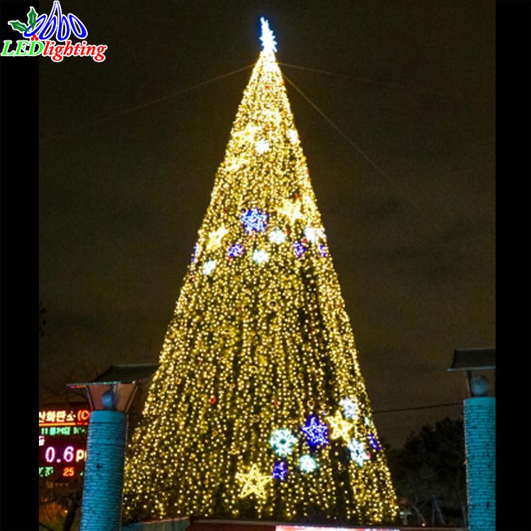 5m8m12m15m30m Large Giant Pvc Christmas Tree Outdoor Artificial