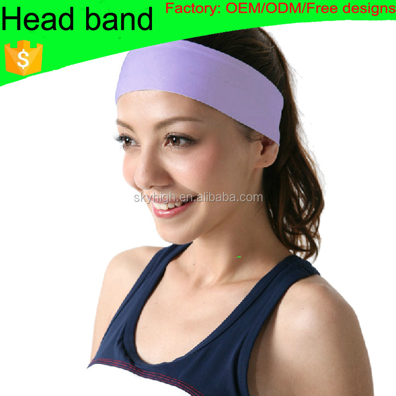 (Factory: OEM/ODM) Custom cycling sublimated headband hairband