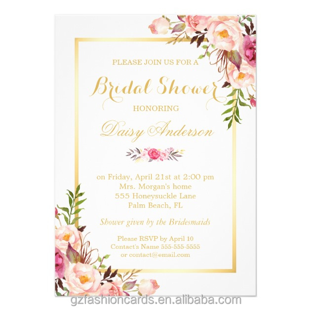 Shabby Chic Invitations is awesome invitation ideas