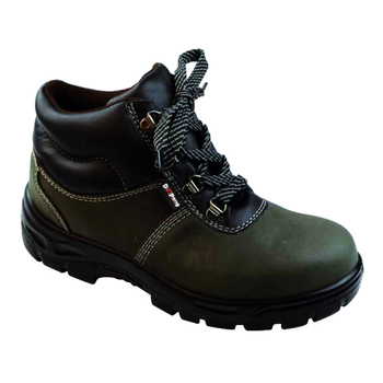 Olive Green Nubuck S3 Casual Industrial