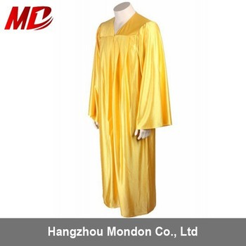 Usuk Shiny Gold Graduation Gown Disposable Buy Graduation Gown