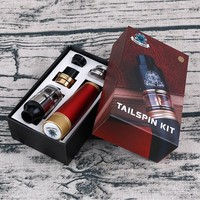 2017 best smart tv box mech mod kit Authentic tailspin mod kit with beautiful colors