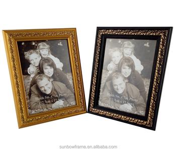 Gold Decorative Plastic Souvenir Photo Frame For Sale China Supplier