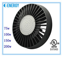 ul dlc high bay lighting 75W,100W,150W,200W led high bay light