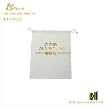 Eco-friendly Best quality Logo Available laundry bag for hotel