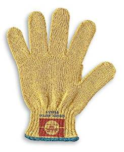 Ansell Size 9 GoldKnit Medium Weight Kevlar® And Cotton Plated String Knit Cut Resistant Gloves