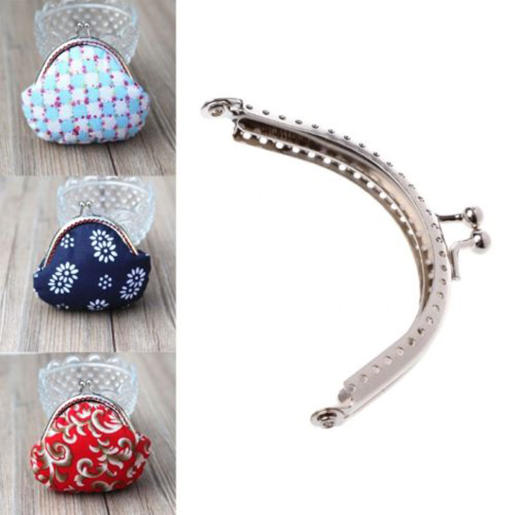 Luggage & Bags Metal Sewing Holes Handbag Clutch Coin Purse Bag Frame Kiss Clasp Arch Bag Accessorries Retro Bag Lock For Purse Wallet #25