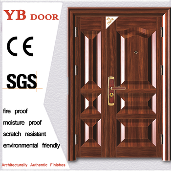 Safety Iron Door Designs For Flats Villa Construction Housing