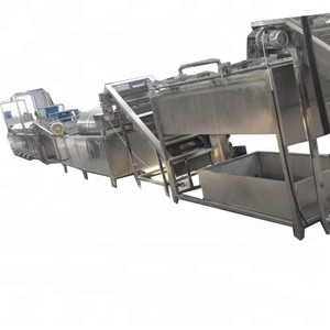 Semi- automatic Fried Potato Chips Production Line / French Fries Making Machine / Frozen Fries Processing plant