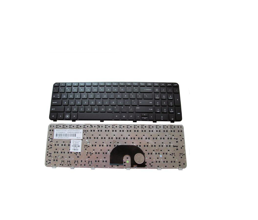 New OEM HP Envy DV6-7000 DV6-7010US DV6-7029WM Keyboard US Black  w// frame