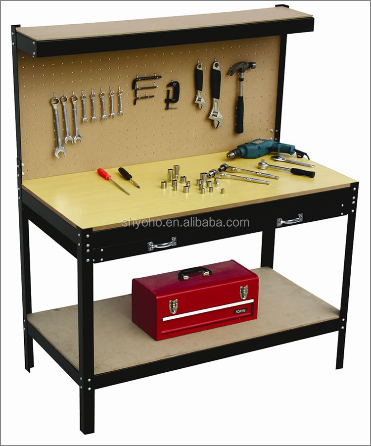 Best Selling Foldable Wood work table,work table workshop