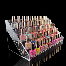 hold 60 bottles nail polish display rack,acrylic nail polish bottles holder,nail salon