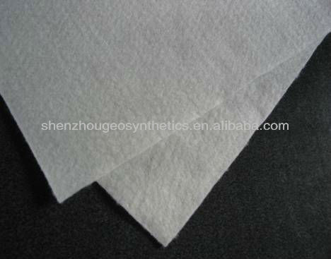 white color PET or PP material jute geotextile