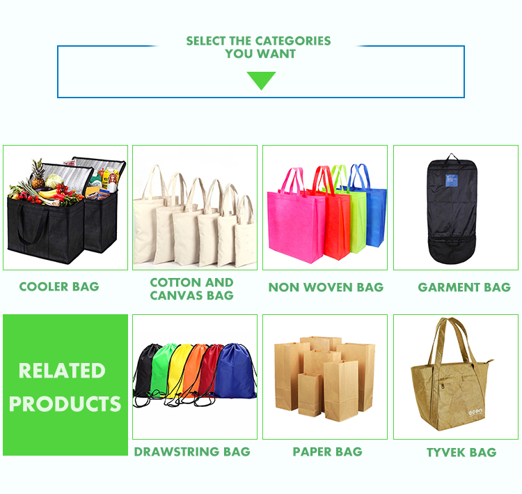 Recyclable New Design Promotional Non Woven Tote Bag