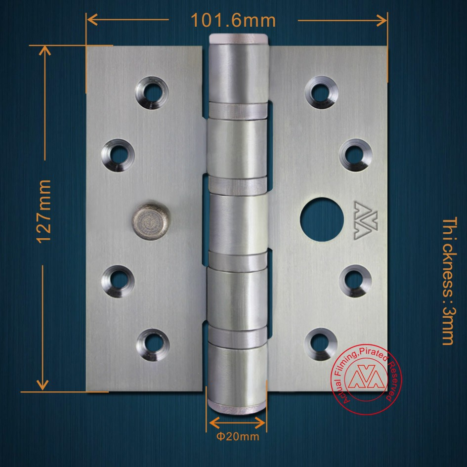543 Heavy Duty Stainless Steel Safety Pin Security Door Hinge Made In Zhongshan Patented Product