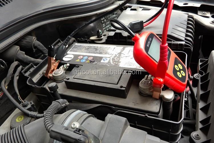 auto testeur de batterie batterie de voiture testeur micro 100 conductance analyseur 12 v. Black Bedroom Furniture Sets. Home Design Ideas