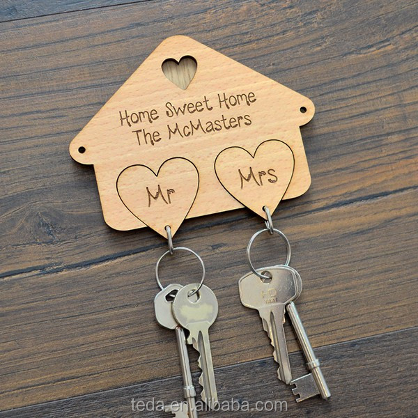 Mr And Mrs Xo Keyring Set Với Key Hanger