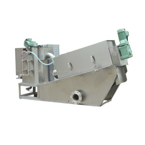 screw filter press for dyeing wastewater sewage treatment plant