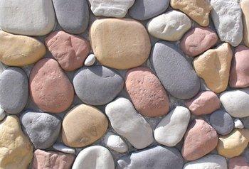 River stone veneer buy artificial stone product on - Paredes de piedra artificial ...
