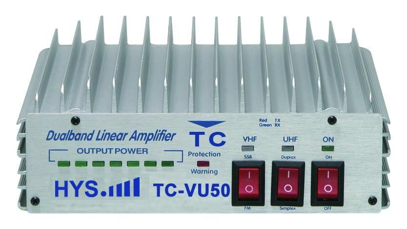 100W! Dual Band Radio Amplifier TC-VU50, View dual band power amplifier,  HYS Dual Band Power Amplifier Product Details from Quanzhou Truest