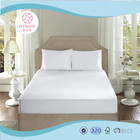 Hot sale white disposable fancy waterproof bed cover for hotel