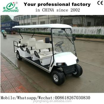 8 10 12 Posti Golf Cart Auto Turistico Elettrica Di Buona Qualita