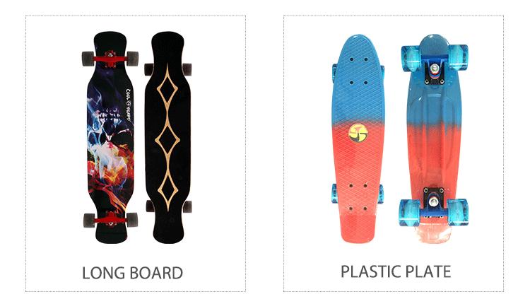 99*23*11cm de fibra de vidro + 7 Ply Personalizado Long Board Skate Longboard bambu