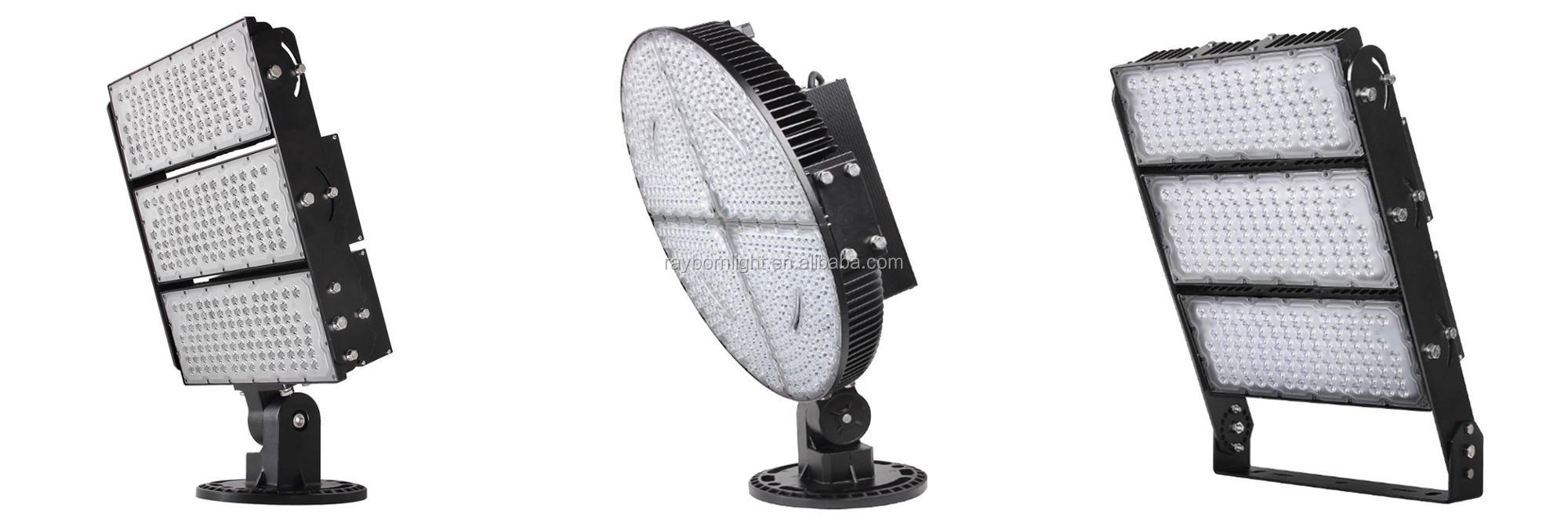 Tennis Court Soccer Sport Field Stadium Outdoor Floodlight 500W High Mast LED Flood Light