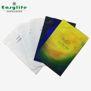 heat seal Aluminum foil face Mask packaging bags/Cosmetic mask packaging pouch