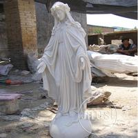 outdoor stone carving blessed virgin mary garden statues