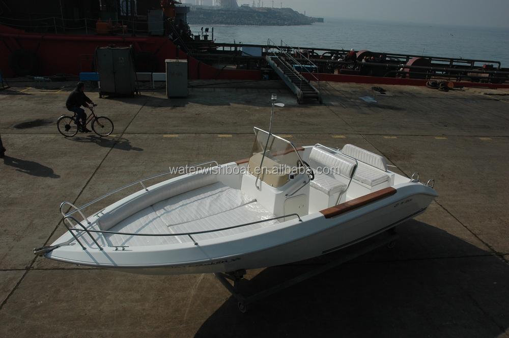 Qd 19 ft small fiberglass fishing boat hull for sale buy for Small fishing boats for sale