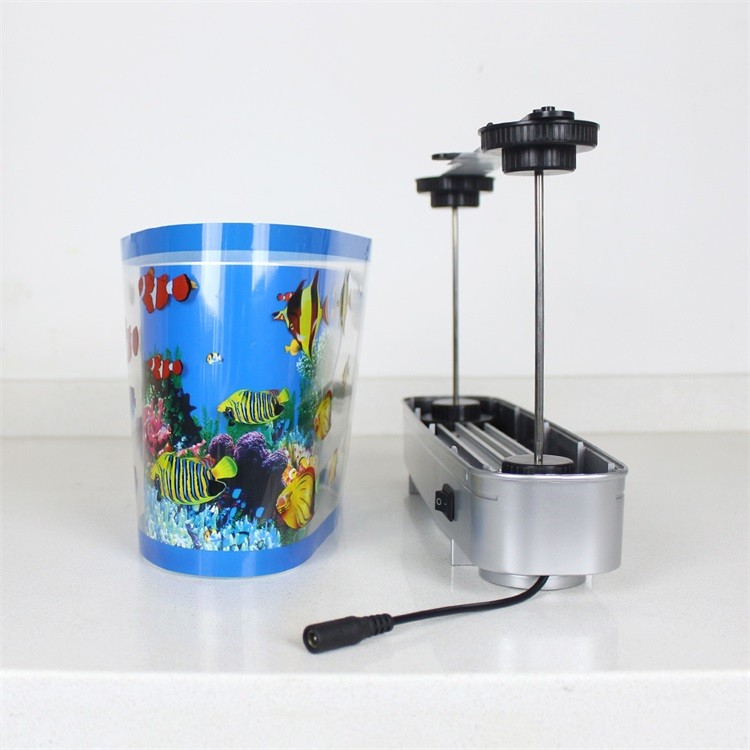 Abs 12v Artificial Tropical Fish Aquarium Decorative Lamp 3d Effect Led Lights With Fake Fish