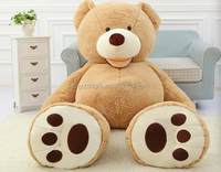 free sample EN71 CE TUV certificate giant teddy bear 300cm/giant teddy bear plush toy/giant teddy bear skin for sale
