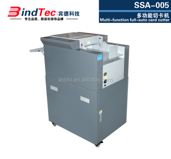 SSA-005 card cutter,A3 size name card cutter, high-speed business card cutter