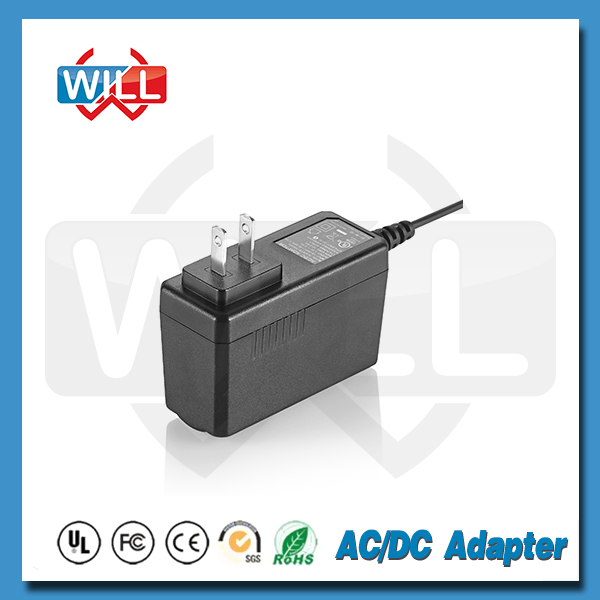 US type 12V 0.5A 1A ac/dc power adapter comply with efficiency V or VI