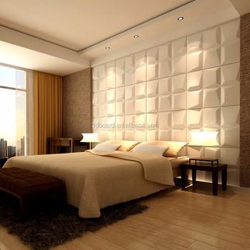 Archiboard Pvc En Relief 3d Mur Papier Peint Blanc Brique Papier