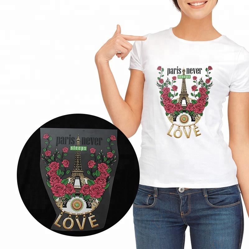 f5c0d623 Kenteer wholesale custom design plastisol heat transfer sticker printing  for t shirts