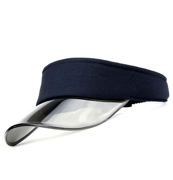 82ca10f6e4482 Transparent Clear PVC bill visor cap
