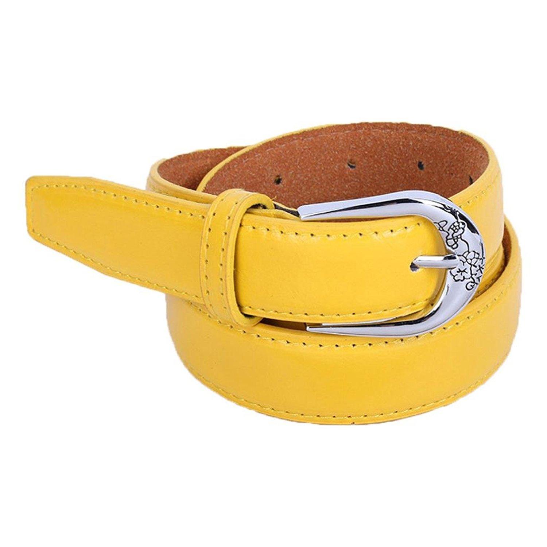 Fashion Women's Belt,kaifongfu Belt Vintage accessories Casual Thin Leisure Belt Wide Pin Buckle Belt
