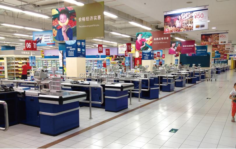 Supermarket Checkout Counter Shop Cashier Counter Cashier