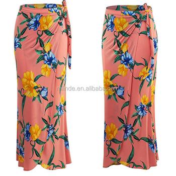 Fancy Skirt Top Designs Womens Plus Size Printed Bohemian Style Beach Wear  Skirt Long Maxi With Wrap Elastic Band - Buy Skirt Long Maxi,Beautiful ...
