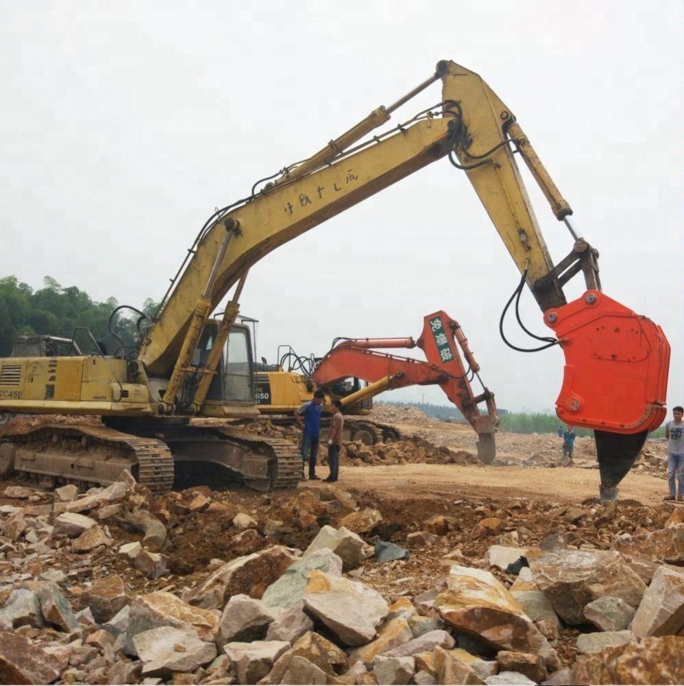 Excavator hydraulic vibrator breaker excavator vibro Hydraulic Ripper for  sale