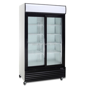 688L display counter commercial refrigerator / vertical refrigerated showcase / super market display refrigerator
