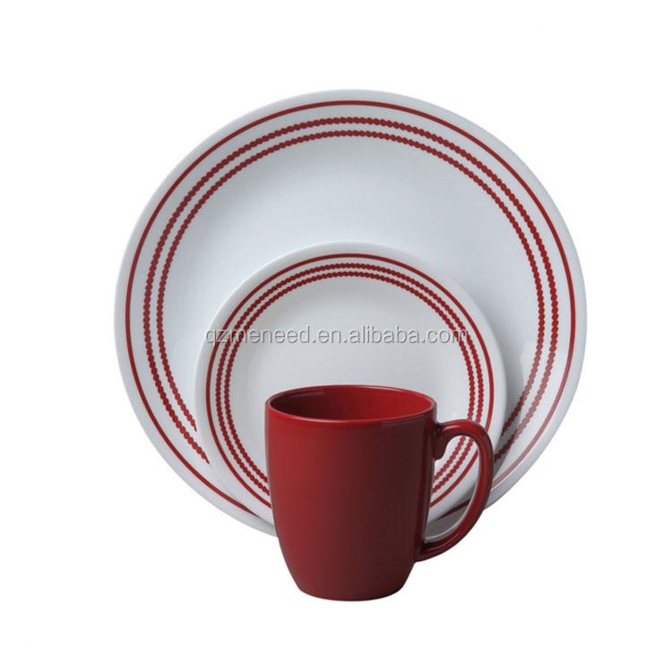 AVON audit China supplier high quality latest fashion design dinner set