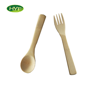 Hot Sale Bamboo Cutlery Spoon Set Tiny Spoon
