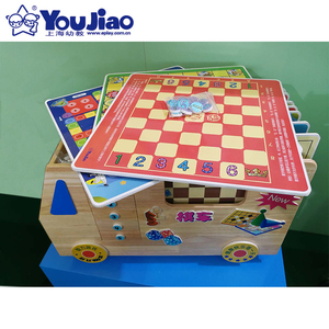 New Design Multiple Toys Kids 10 In 1 Chess Chess Game Set